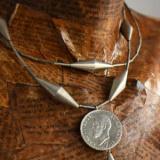 Salba Mariei - Salba Infinitului, colier de damă din argint