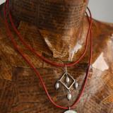 Salba Mariei - Salba Familiei - colier de damă din argint