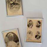 Carol I, Elisabeta, Ferdinand, imagini interbelice, înrămate