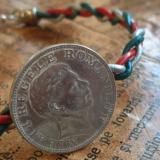 Salba Mariei - Brățara Mărțisorului - piele & argint