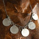 Salba Mariei - Salba Salba Traditionala cu Globurele, colier de damă din argint