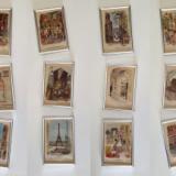 Parisul de acum o sută de ani - 12 litografii color din anii '20, înrămate