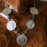 Salba Mariei - Salba Stralucirii, colier de damă din argint