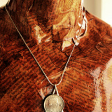 ArgintIon - Colier barbatesc cu lantic din argint