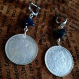 Cerceii Marii Negre - bijuterii Salba Mariei din argint