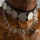 Salba Mariei - Salba cu Romburi, colier de damă din argint