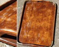 Tava din lemn de carciuma